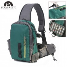 Splash Waterproof Fly Fishing Sling Bag Multi-Purpose Shoulder Fishing Pack Outdoor Backpack
