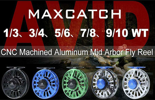 Stealth fly fishing reels are suitable for both salt and fresh waters