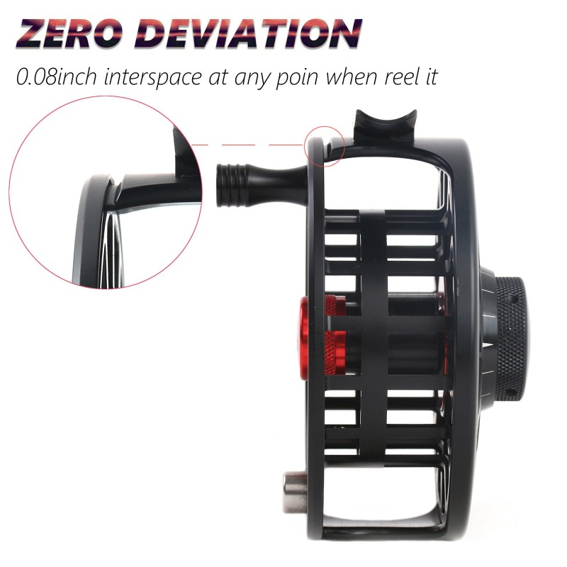 1 TORO Aluminum Large Arbor Fly Fishing Reel