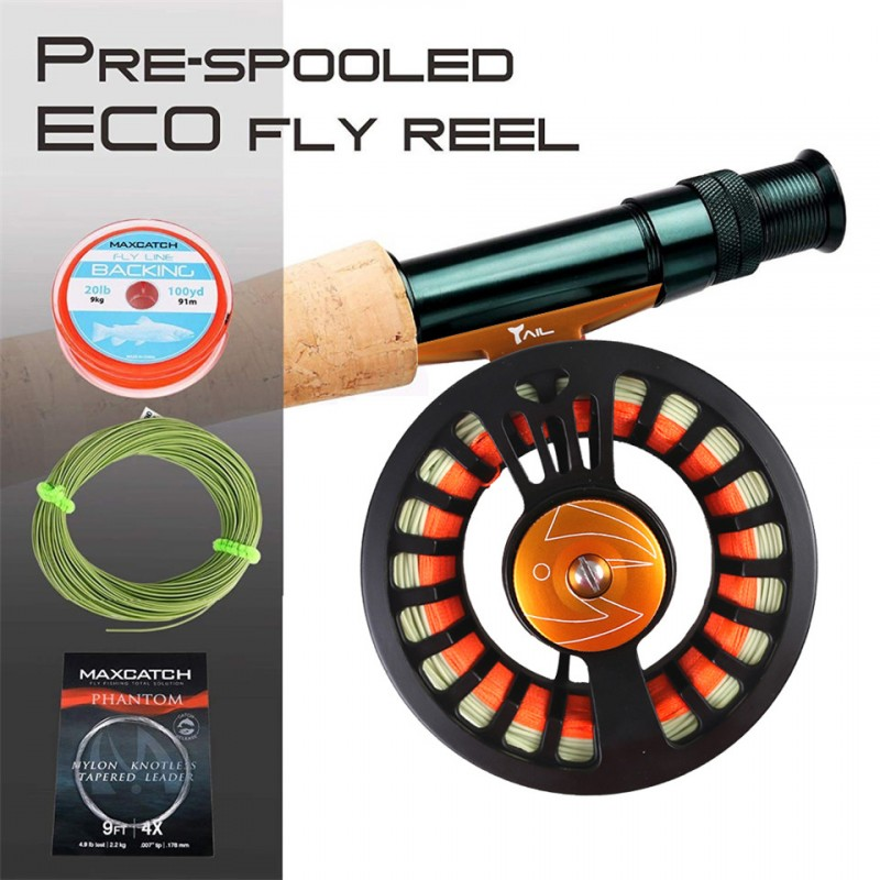 Pre-loaded Reel(Leave message for the size) +$9.00