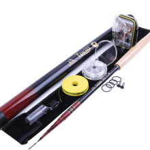 Tenkara Fly Fishing Kit (12 ft./ 13 ft.) - Telescopic Tenkara Fly Rod, Line, Flies & Tippet