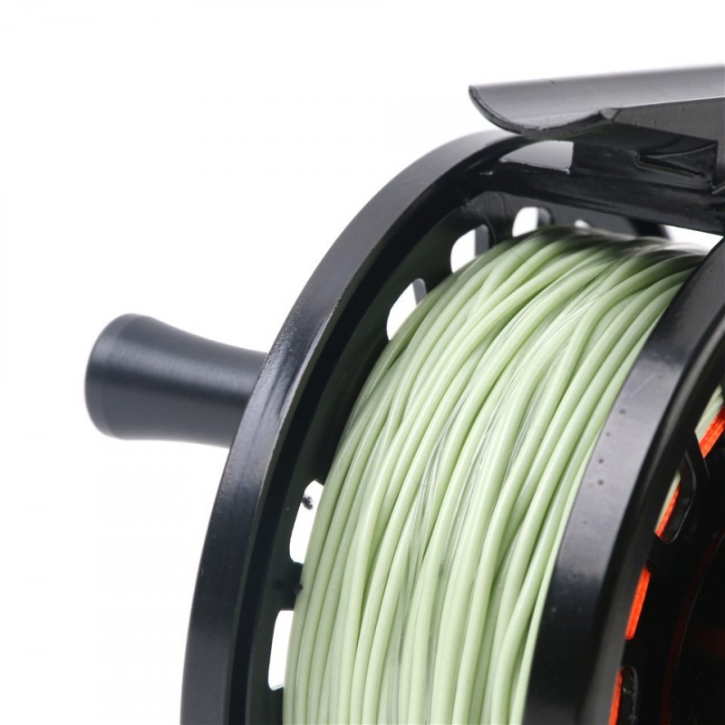 Tino 5/6wt Die-casting Aluminum Fly Reel with 5/6wt Fly Line Combo