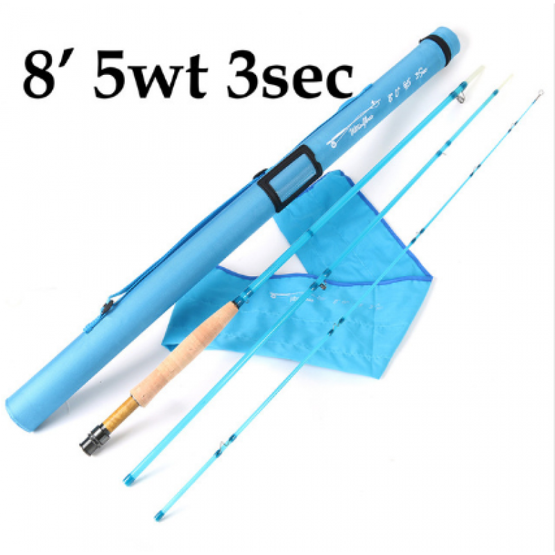 8' 5wt 3pcs Blue +$1.00