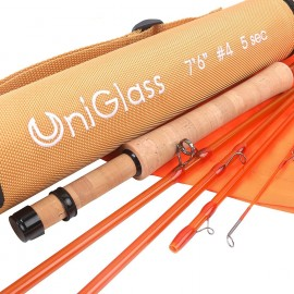 UniGlass Fly Fishing Rod Fiberglass Rod