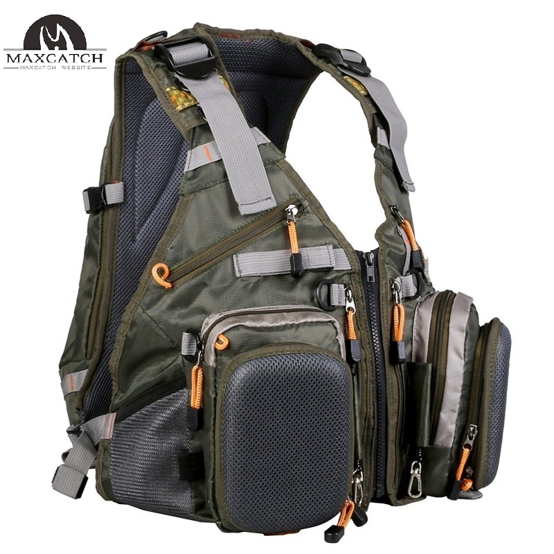 V-POP Fishing Backpack & Vest Combo Designed for Outdoor Sports