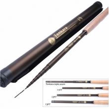 Tenkara 7:3 Action Fly Fishing Rod - Hook Keepers & Carbon Rod Tube