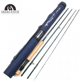 V-access SK 24T Carbon Fiber Fly Fishing Rod 9FT Full-Well Fast Action With Cordura Tube