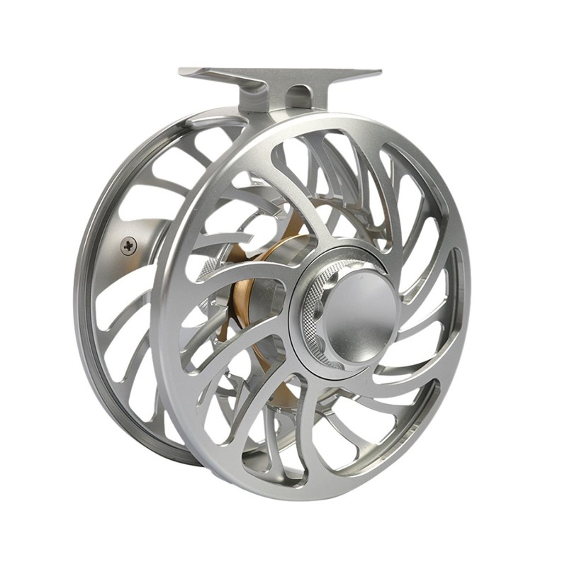 VM 100%Waterproof Saltwater Sealed Multi-disc Drag Fly Fishing Reel