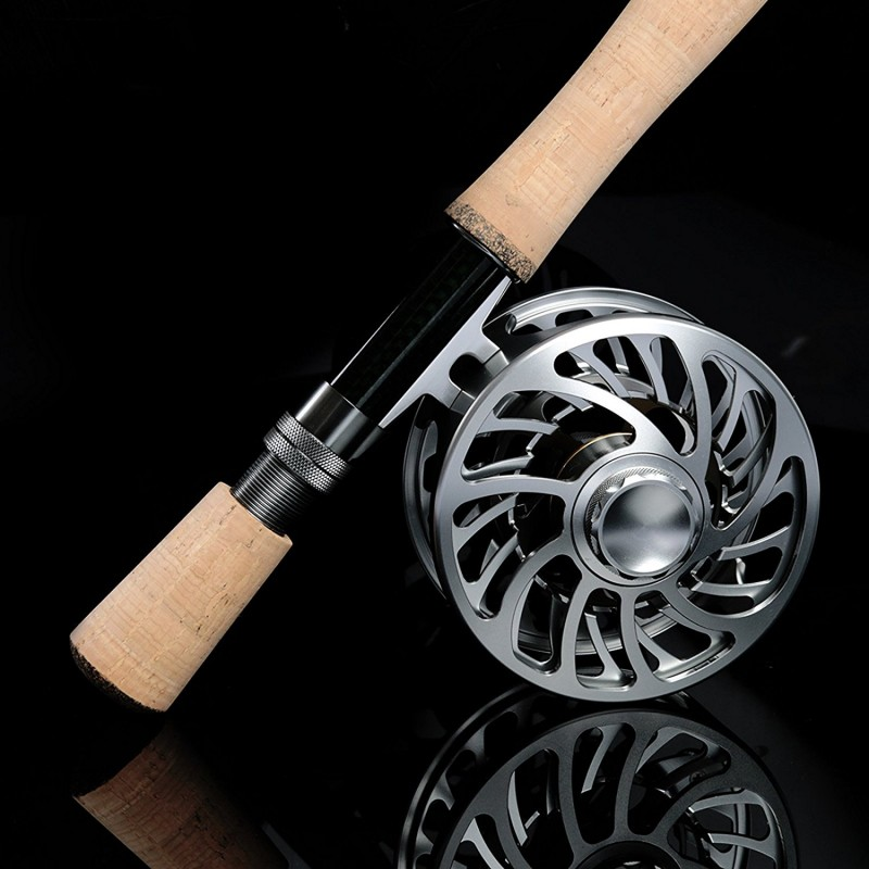VM Multi-disc Drag All Purpose Fly Fishing Reel