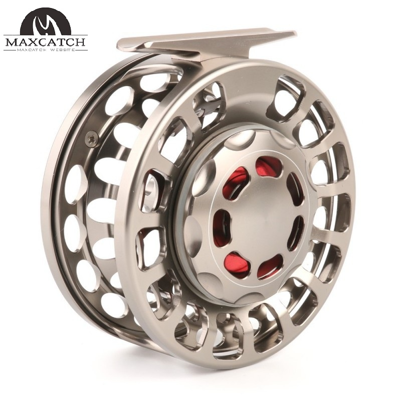 VX 100% Waterproof Large Arbor Saltwater CNC Fly Fishing Reel(10 Years Warranty)