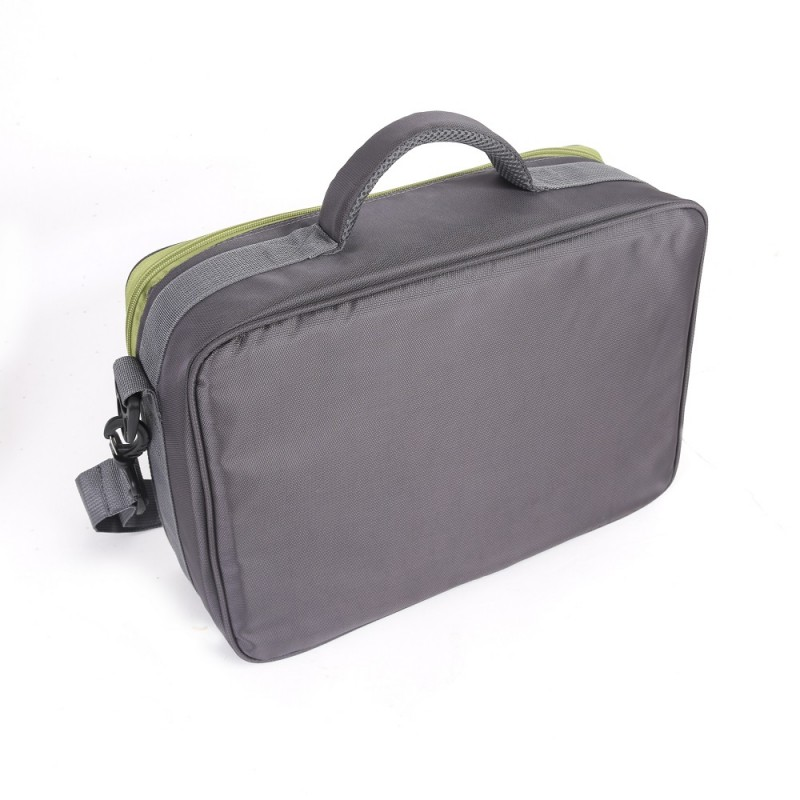 "Fly Fishing Reel and Gear Bag Reel Case (15.2"" x 10.1"" x 5.1"")"