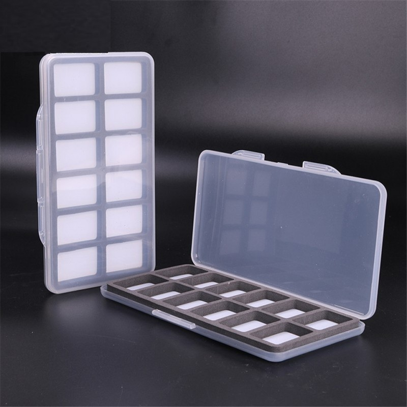 Lot Of 3 Pieces 185*103*13mm Clear Slim Fly Box Hook Box