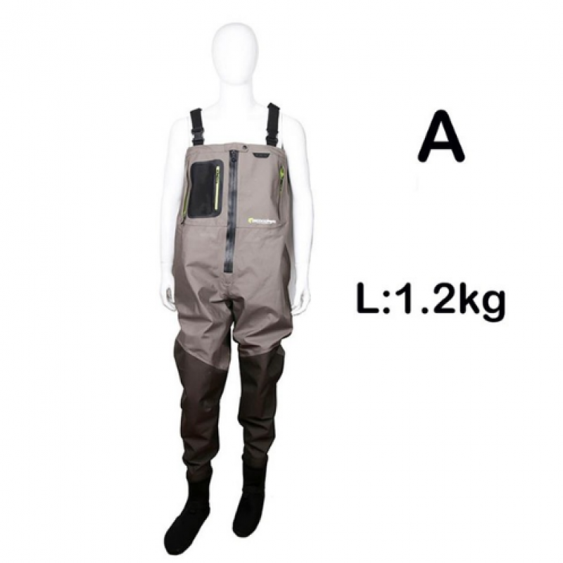 Breathable Wader Fission Zip L