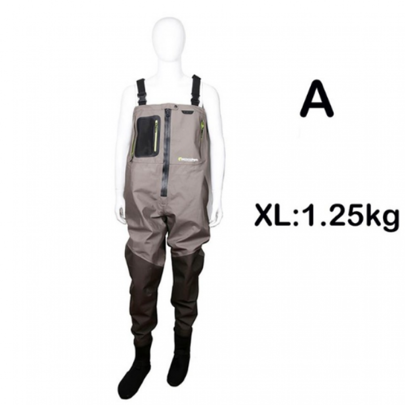Breathable Wader Fission Zip XL