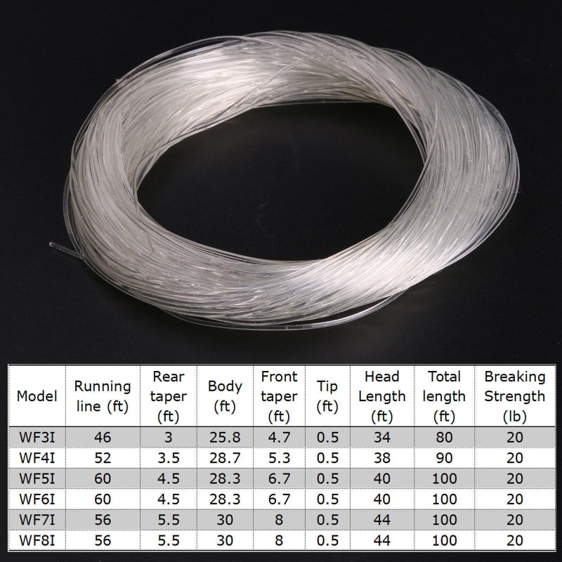 Weight Forward Intermediate Fly Fishing Line
