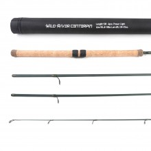 Wild River Salmon & Steelhead CenterPin Rod Float Fishing Rod; 13ft, 4pcs
