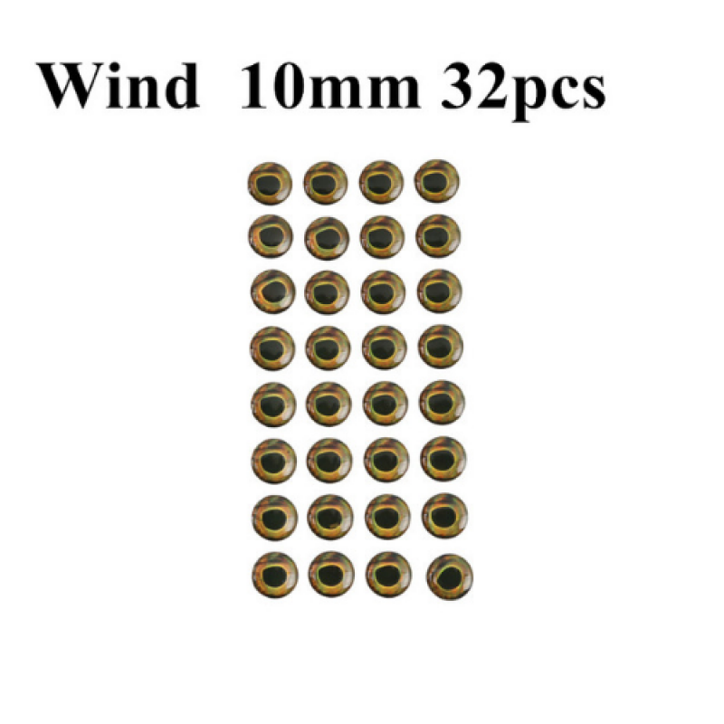 Wind 10mm 32pcs