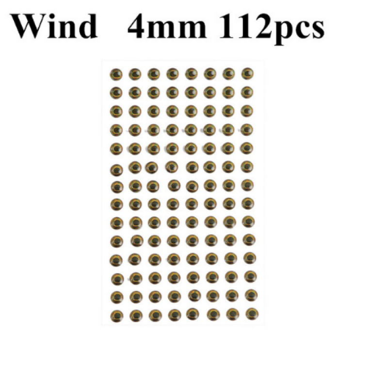 Wind 4mm 112pcs