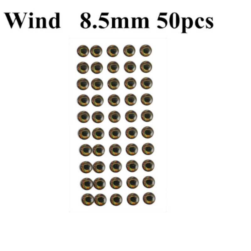 Wind 8.5mm 50pcs