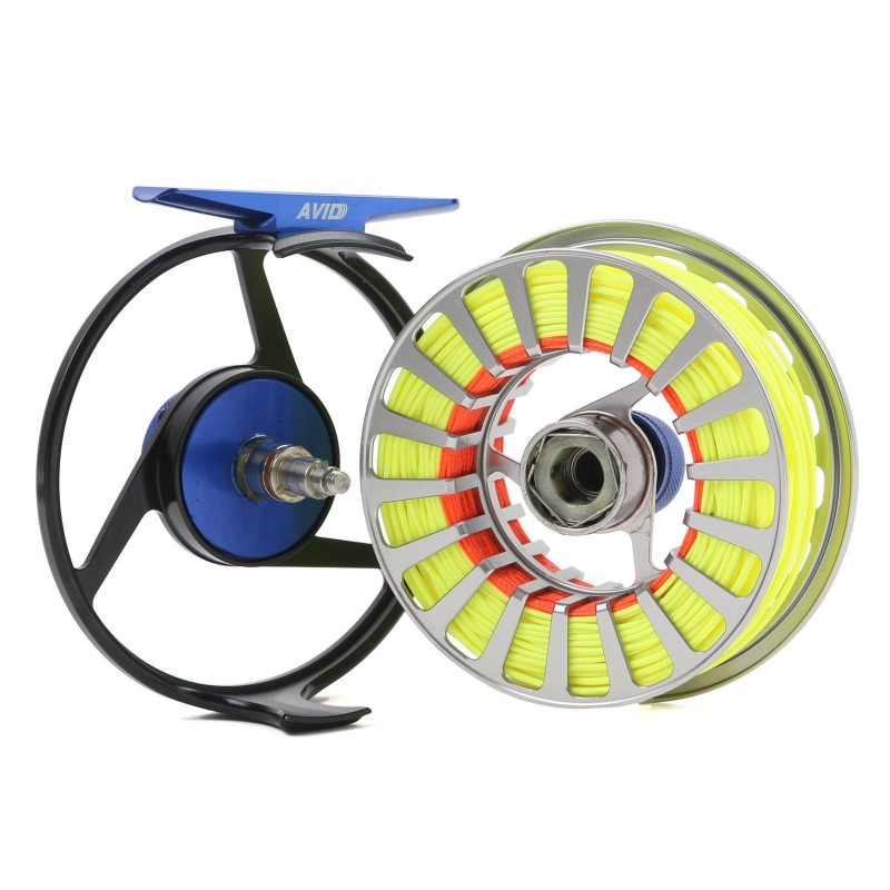 AVID Fly Fishing Reel + Line Combo
