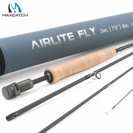 Top Grade Airlite Super Light Graphite Carbon Fiber Fly Rod