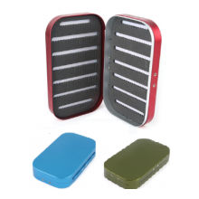 Aluminum Slit Foam Fly Fishing Box