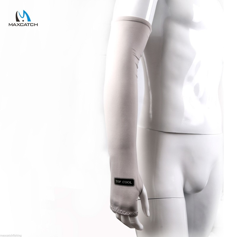 Anti-UV Arm Protector With Thumbs Hole Cycling Motor Driving