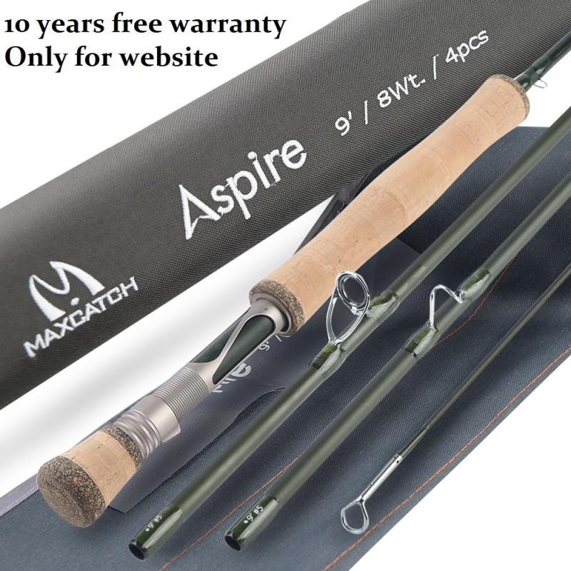 Aspire 40T Carbon Performance All purpose Fly Rod