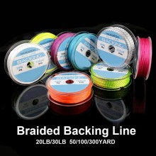 20LB100/300Yard Braided Backing