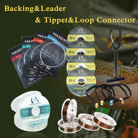 Backing&Leader&Tippet&Loop Connector