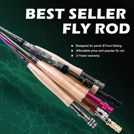 BEST-SELLER FLY RODS