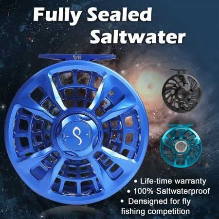 FULLY-SEALED SALTWATER PROOF REELS (3)