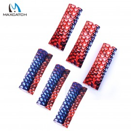 Fly Fishing Finger Protection 6PCS Fly Line Stripping Guards Braided Textured