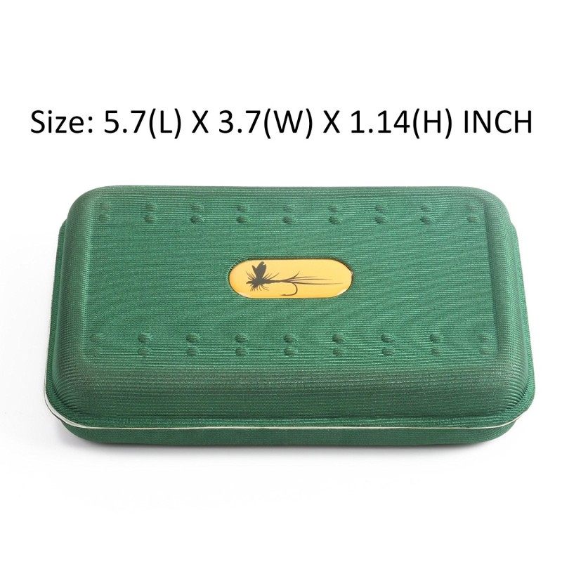 Maxcatch Lightweight Foam Fly Box Size: 5.7 X 3.7 X 1.14 inch by Maxcatch