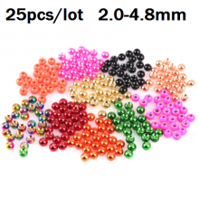 Tungsten Beads Nymph Head Ball Fly Tying Material 18 Different Colors