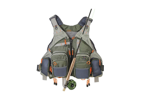 fly fishing vest rod holder for sale