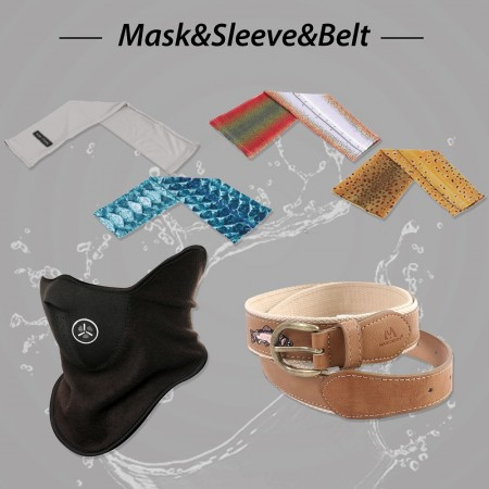 MASKS, SLEEVES & BELTS (4)