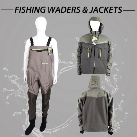 FISHING WADERS & JACKETS (2)