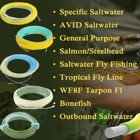 Specific Saltwater Fly Line (8)