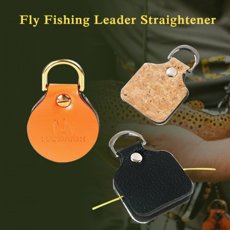 Fly Fishing Leader Straightener