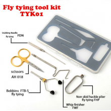 Fly Tying Tools Kit Gift Set with Box