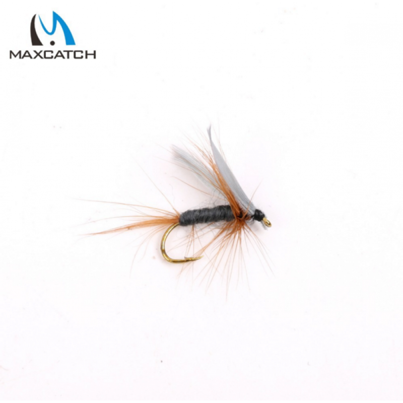 12Pcs Dry Flies Fly Fishing Flies Set With a Box Trout Fly Flies
