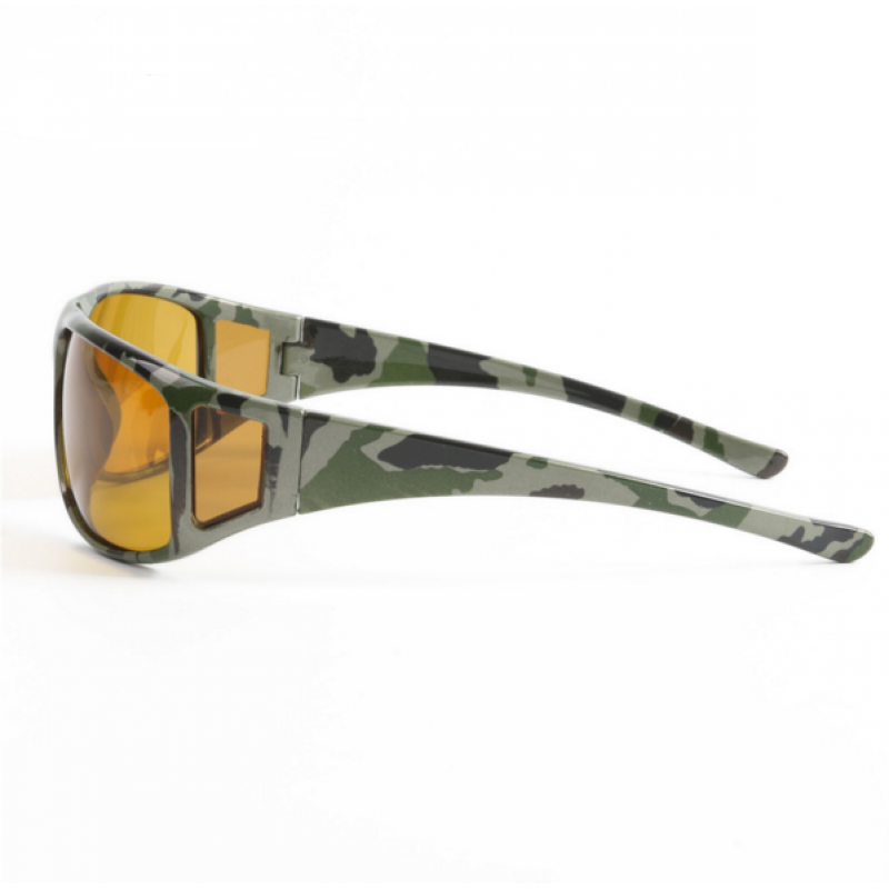 41e56f9f3110 Camouflage Frame Fly Fishing Polarized Sunglasses Gray Yellow Brown Color  Fishing Sunglasses