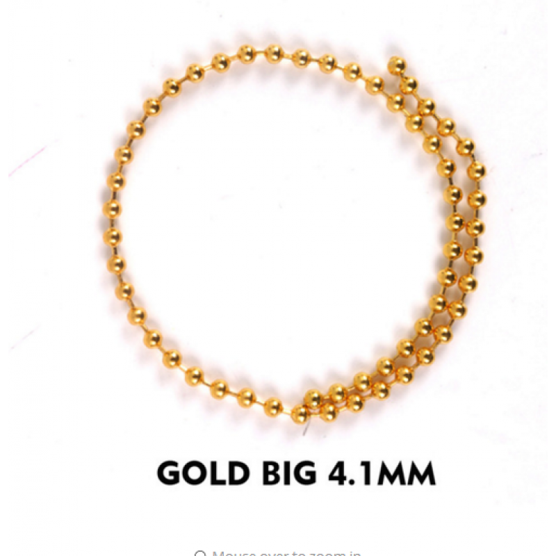 gold big 4.1mm