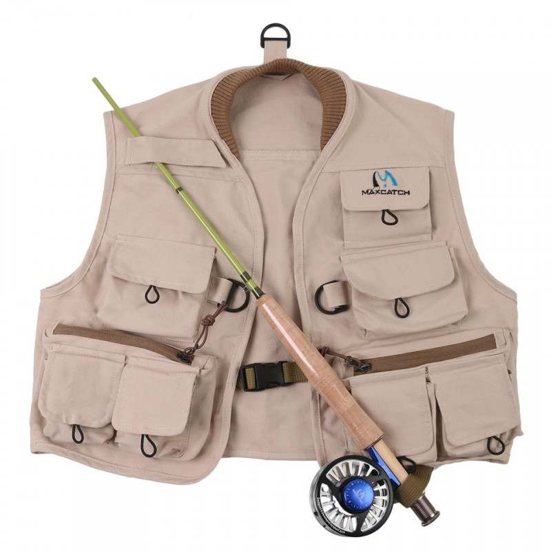 Kids Fly Fishing Vest Hykids Youth Vest Pack 100% Cotton Fishing Vest For Fun