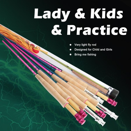 YOUTH & PRACTICE RODS (5)