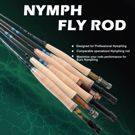 NYMPH FLY RODS