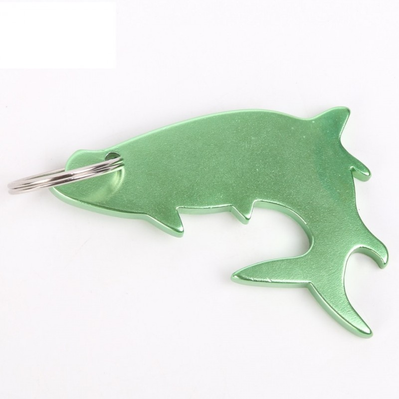 Fish Alumimum Bottle Opener Fishing Tools