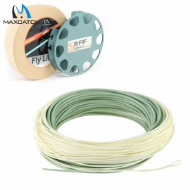 Outbound Saltwater 100FT Weight Forward Fly Line With 2 Welded Loops