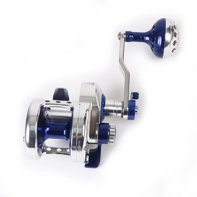 Sea fishing Aluminum Trolling Reel Jigging Reel Max Drag 10kg-19.5kg